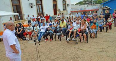 Acto de lanzamiento de los talleres del Departamento de Personas con Discapacidad