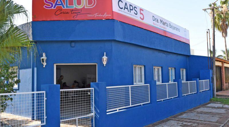 Horarios y servicios de los CAPS Nº 5 y Nº 6