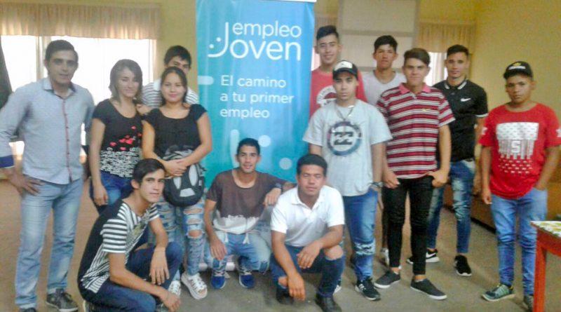 Más de 100 jóvenes participan de los cursos del Programa Empleo Joven