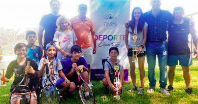 Se jugó el 1º Torneo Provincial de Tenis en la Quinta Madariaga