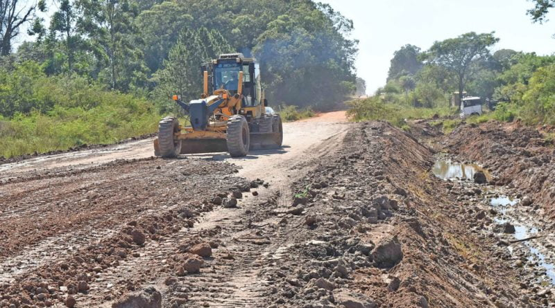 Avenida Gaucho Gil: las obras avanzan favorablemente