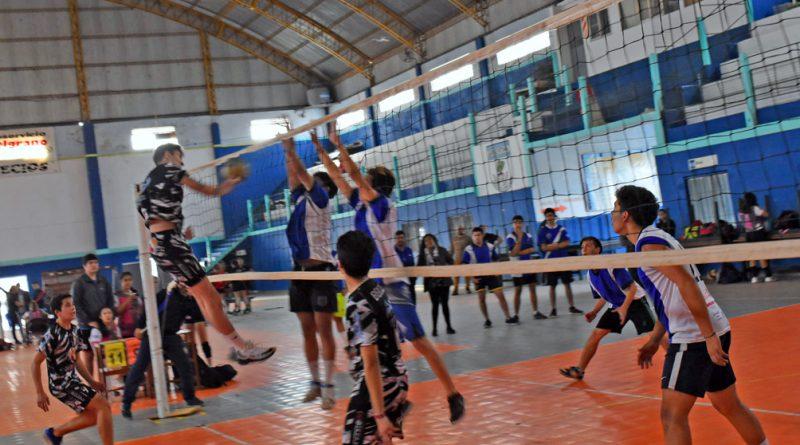 Se jugó la etapa preliminar de vóley de los Juegos Correntinos 2018