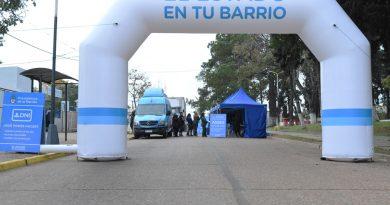 """El operativo """"El Estado en tu Barrio"""" está en la plaza España"""