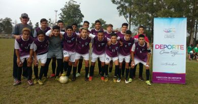 Club Madariaga se alzó con la copa de los Juegos Culturales Correntinos 2018