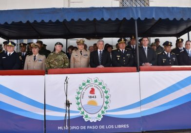 Acto 47 Aniversario de la Policía de Corrientes, reconocimiento y entrega de distinción al personal policial
