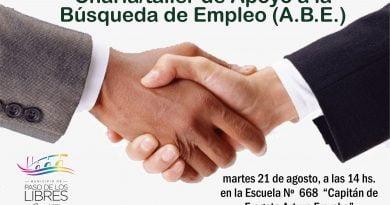 Charla/taller de Apoyo a la Búsqueda de Empleo (A.B.E.)