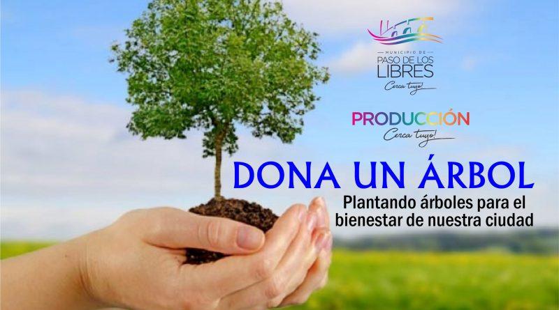 """Únete a la campaña """"Dona un árbol"""""""
