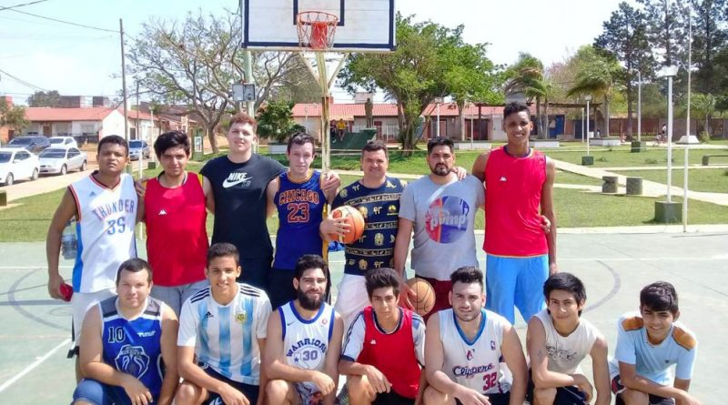 Se disputó un Torneo de Básquet en Barrio Santa Bárbara