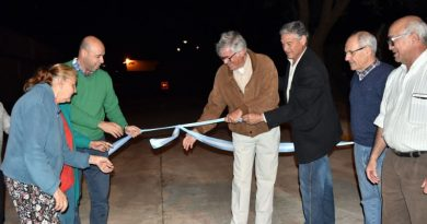 Ascúa junto a los vecinos inauguró la prolongación de calle Sitjá Nín