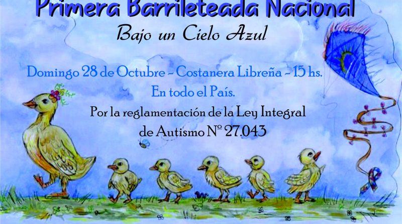 """""""Bajo un cielo azul"""", Primera Barrileteada Nacional"""