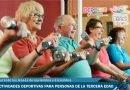 Actividades deportivas para personas de la tercera edad durante los meses de noviembre y diciembre