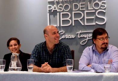 """Martín Ascúa inauguró la muestra permanente """"Intendentes Libreños"""""""