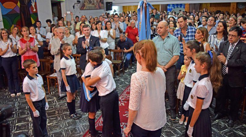 Martín Ascúa acompaño el Acto de Colación 2018 de la Escuela Niño Jesús IP 5