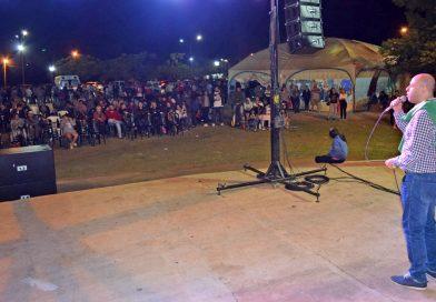 """Martín Ascúa acompañó el Gran Festival Solidario """"Libres x Libres"""""""