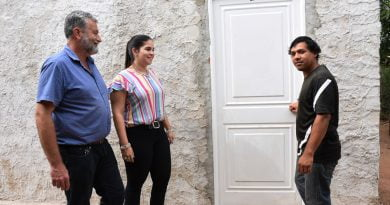 Se entregó el módulo habitacional a Carlos Chapay