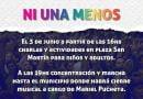 """Libres marcha y realiza charlas por """"Ni Una Menos"""""""