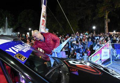 El Rally Entrerriano tuvo su largada simbólica en la noche del viernes 10
