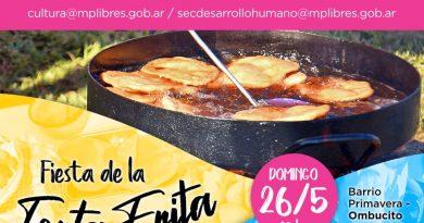 Domingo 26, gran festival de la Torta Frita en Bº Primavera