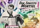 Sábado 22, festival homenaje a Ernesto Montiel
