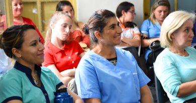 NUCE: Se desarrolló capacitación para promotores de salud bucal