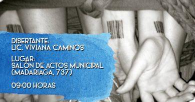 Viernes 26, charla sobre trata y tráfico de personas a cargo de la Licenciada Caminos