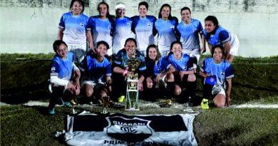 """""""Guaraní"""" campeón del 1º Torneo Femenino de la Liga Libreña"""