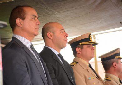 Martín Ascúa participó de los honores al Gral. San Martín, en la localidad de Yapeyú