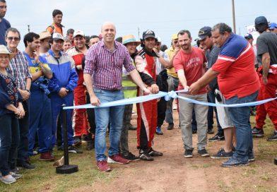"""Tincho Ascúa inauguró el recuperado circuito """"Santa Bárbara"""""""