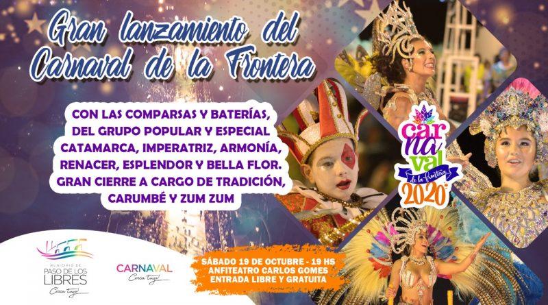 Gran Lanzamiento del Carnaval de la Frontera 2020