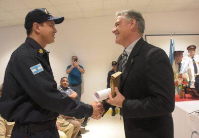 Cuevas participó del acto por el 35º Aniversario de la Creación de la Asociación Bomberos Voluntarios