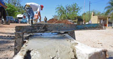 El Municipio intensifica las obras en distintos barrios de Libres