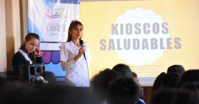 Kioscos saludables: El equipo de nutrición visitó la Escuela 477 y 668