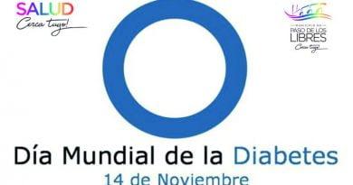 """Actividades programadas para el """"Día Mundial de la Diabetes"""""""