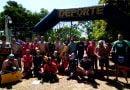 25 Nadadores participaron de la Travesía de Fuego Internacional del Río Uruguay