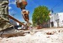 El Municipio repara boca de tormenta en calle Pago Largo