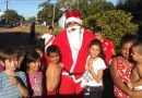 Papá Noel recorrió los barrios de la ciudad llenando a los niños de sonrisas
