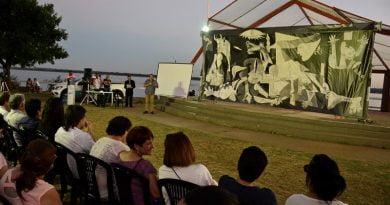 """El """"Guernica"""" de Pablo Picasso fue presentado en Paso de los Libres"""