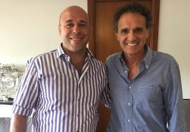 Martín Ascúa se reunió con el Ministro de Obras Públicas, Gabriel Katopodis
