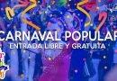 Con entrada libre y gratuita, comienza este viernes 17 el Carnaval Popular
