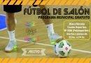 Escuela Deportiva de Fútbol de Salón en el Polideportivo