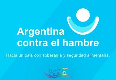 Reunión con comerciantes locales por el plan Argentina contra el hambre