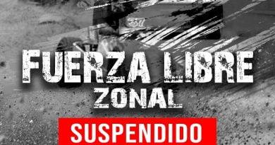 Fuerza Libres Zonal y Fiat 1400 Correntino suspendido hasta nuevo aviso