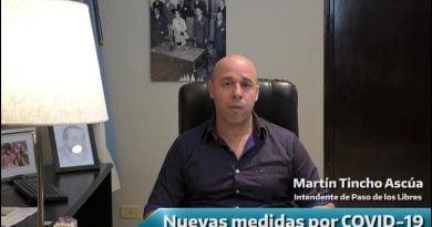 Ascúa amplió medidas preventivas por los casos positivos de Coronavirus en Uruguaiana