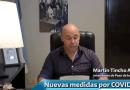 Mensaje del Intendente Municipal para el pueblo de Paso de los Libres por el caso de COVID-19 en Uruguaiana, Brasil.
