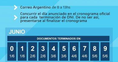 A partir del lunes 1 de Junio, comienza el cobro del ingreso familiar de emergencia en el Correo Argentino