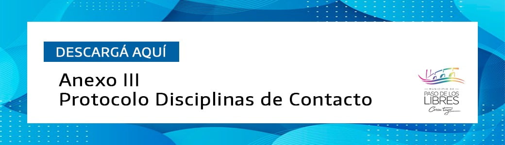 DISCIPLINAS DE CONTACTO