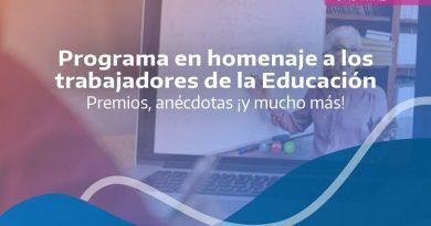 Programa en homenaje a los trabajadores de la Educación