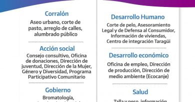 """Libres: la """"Muni en tu Barrio"""" llevará obras y prestacione sociales al B° Zapadores"""