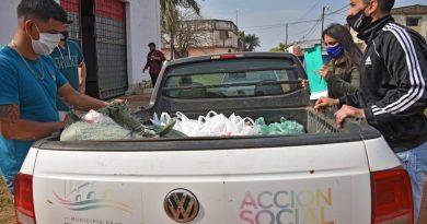 Continúa la asistencia del Municipio libreño a comedores y merenderos comunitarios