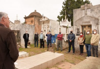 El Municipio de Paso de los Libres homenajeó a Amado Bonpland al cumplirse 163 años de su fallecimiento